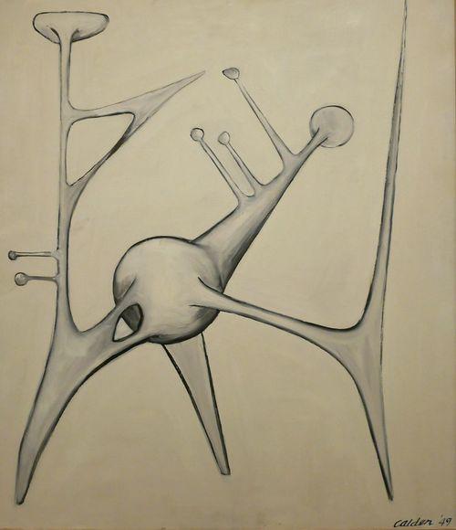Calder 49 - Exposition temporaire Calder au Musee Soulages Rodez - Creativity Arts Culture And Entertainment Modernart Museum Aveyron Rodez Art Painting Art Painting Gouache Gouache Painting Abstractart Abstrait Abstract