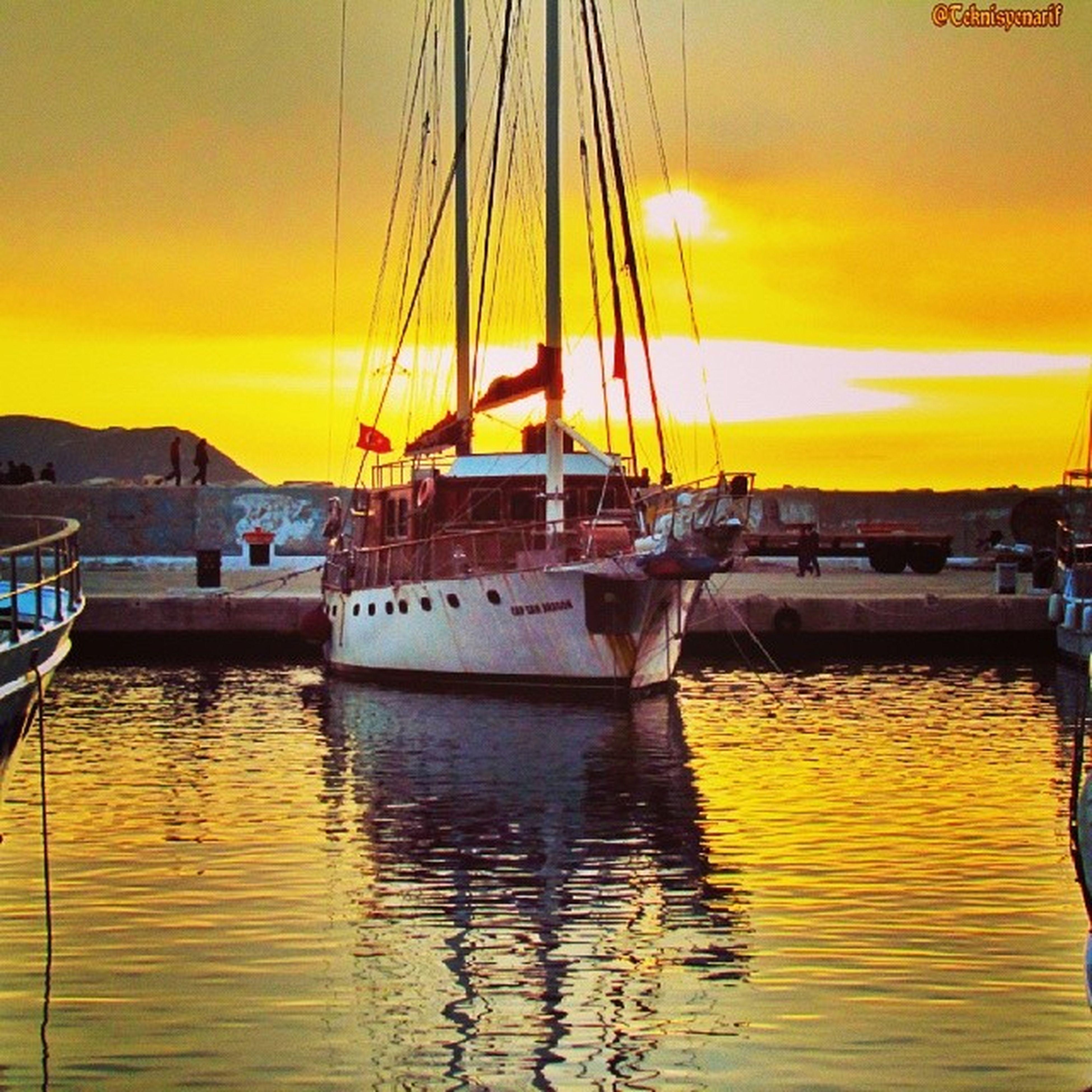Kaş liman.. herkese iyi akşamlar diliyorum