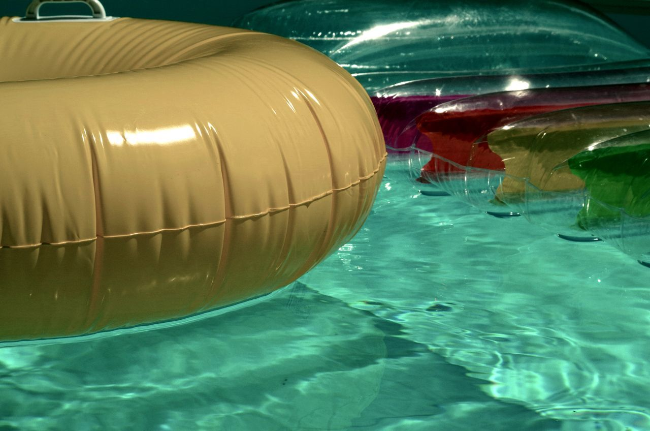 Colorblind Safety Life Rings Inflatables Pool TimeToys Lifestyles Lifeguard  CPR  Drowning Prevention Pentax Made In The Shade Montreal, Canada