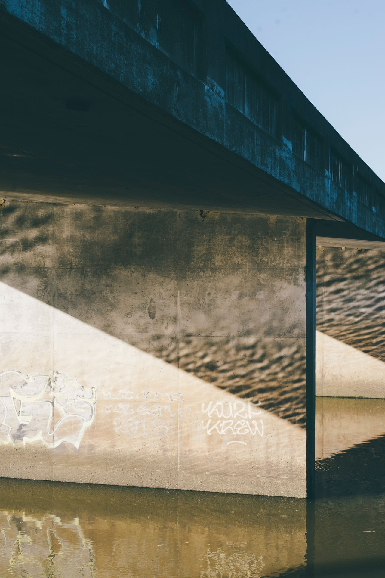 Architecture Built Structure Day No People Outdoors Sky Rural Poetry Underpass Reflection