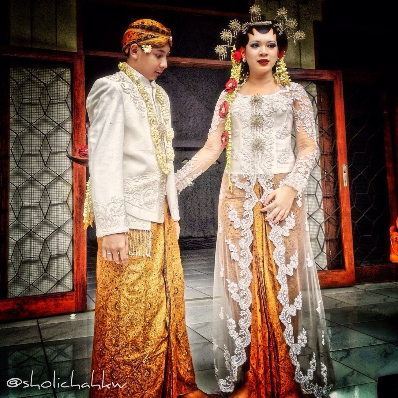 Wedding Love INDONESIA Couple Iphonesia Traditional GangPolos Gang_family