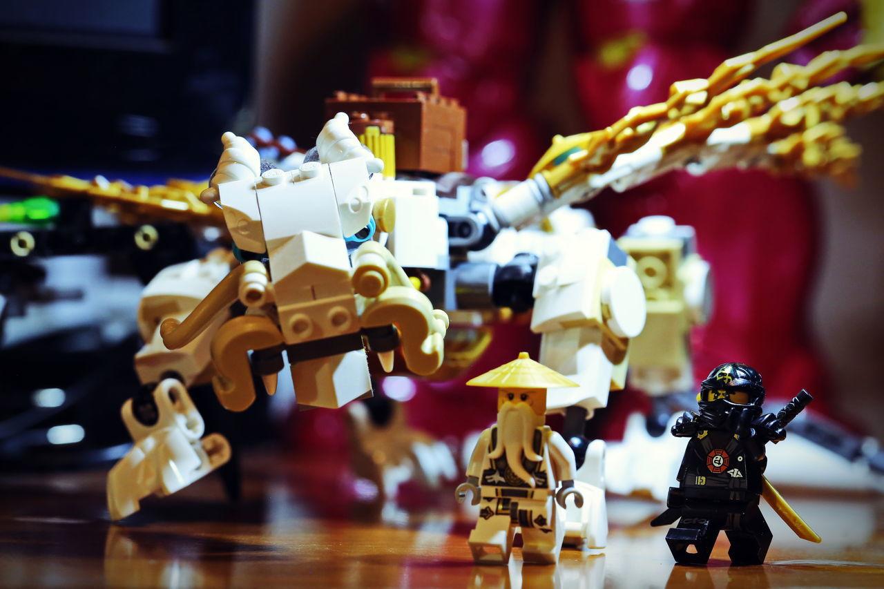 Dragon Figure LEGO Ninjago Sensei
