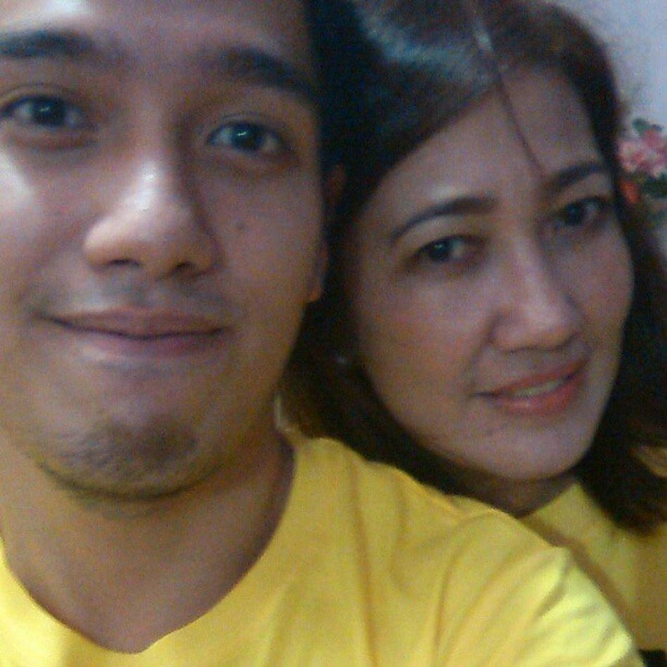 Yellownewyear with momma
