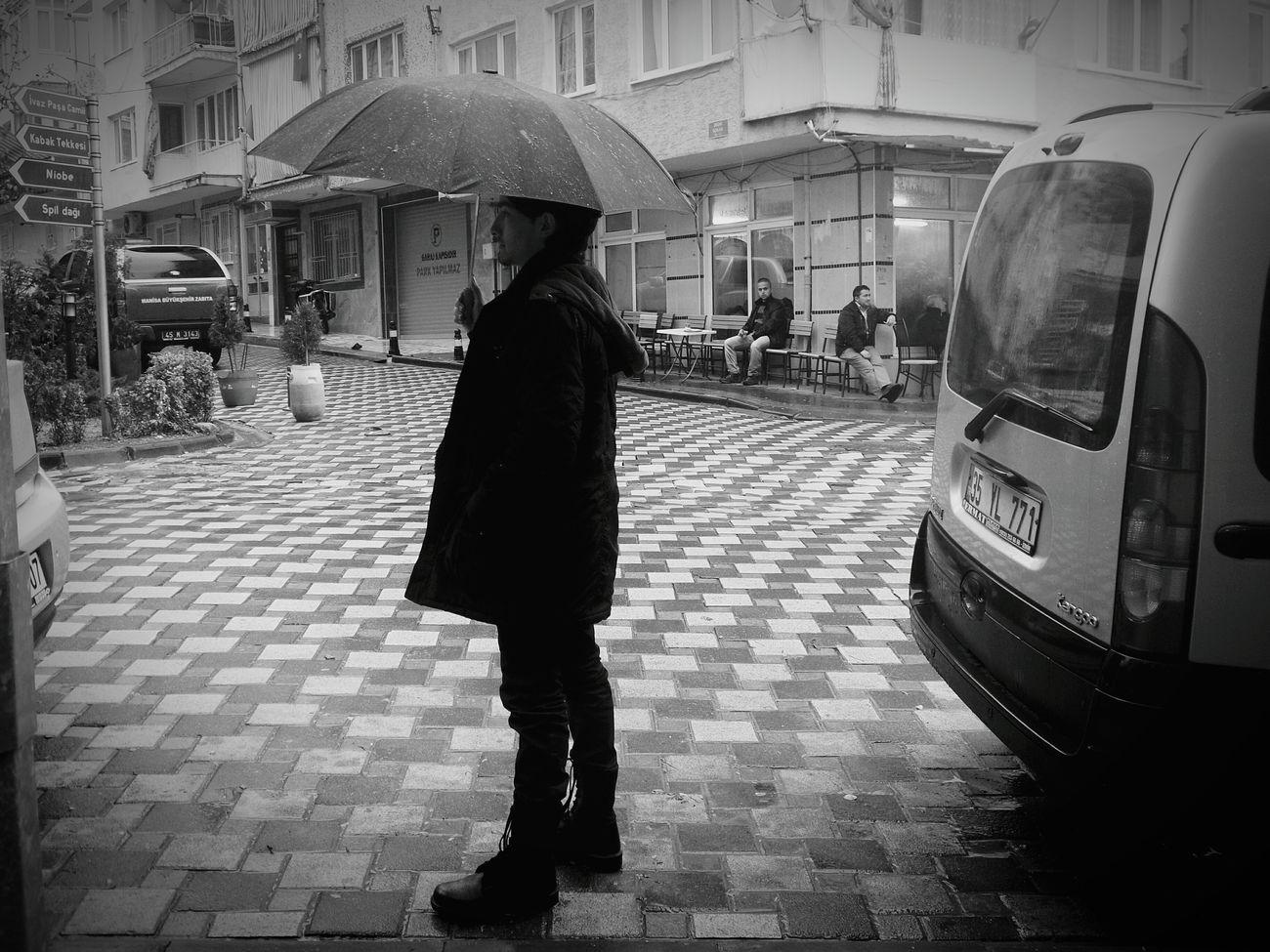 Rain Rainy Weather City Street
