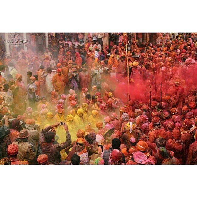 Colours Holi Barsanaholi India coloursofindia