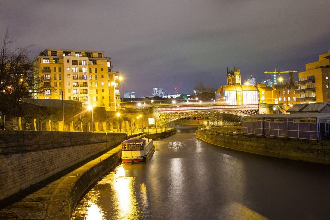 Leeds Clarence Docks City Cityscapes Building Long Exposure