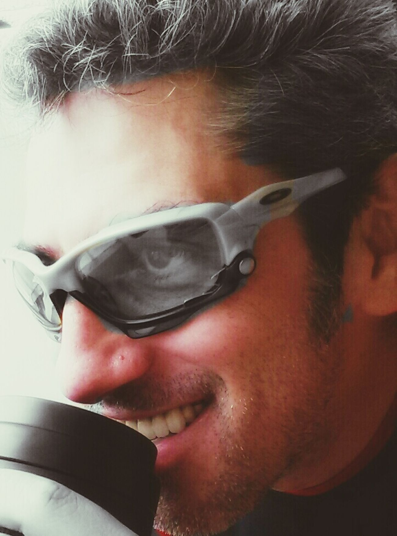 Oakleysunglasses Face FaceTime Enjoying Life That's Me Hello World Selfshot Coffee Eyes