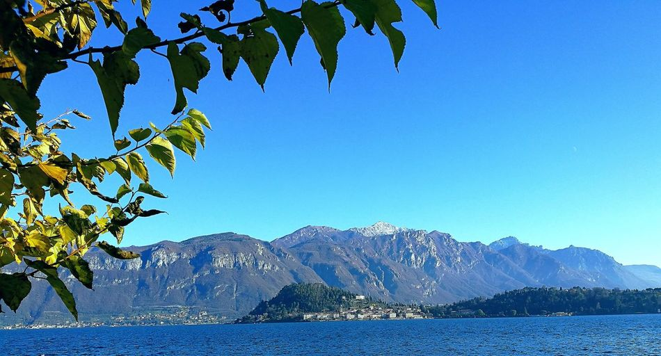 Spring day on Lake Como, Bellagio EyeEmNewHere Nature Water Blue Sky Outdoors Lakecomo