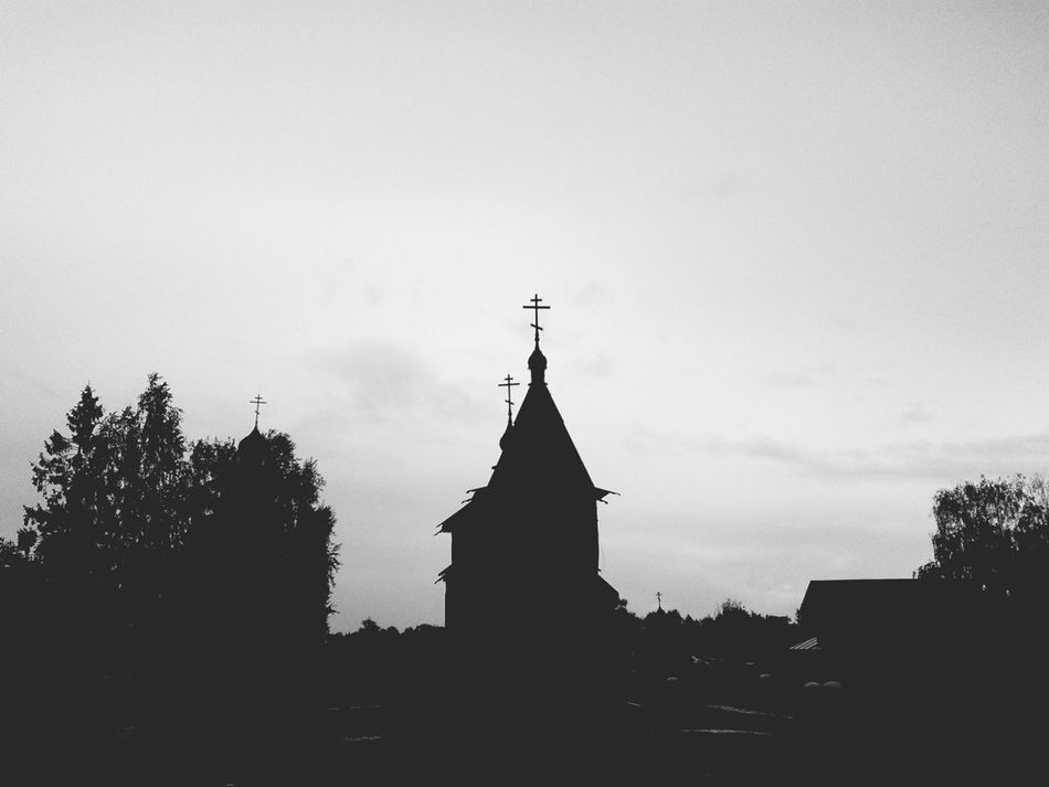 Church Black And White Mysterious Dark The Traveler - 2015 EyeEm Awards