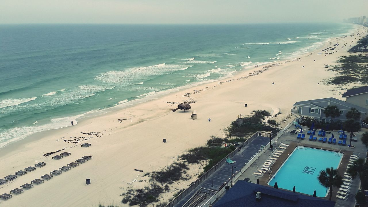 Good morning ocean! OpenEdit Beach Sand Sea High Angle View Horizon Over Water Aerial View Outdoors Landscape Vacations No People Sky Scenics Travel Destinations Water Day Beachphotography Beachlovers Florida Panama City Beachscape Condo View Ocean Front Beach Front Beach Life