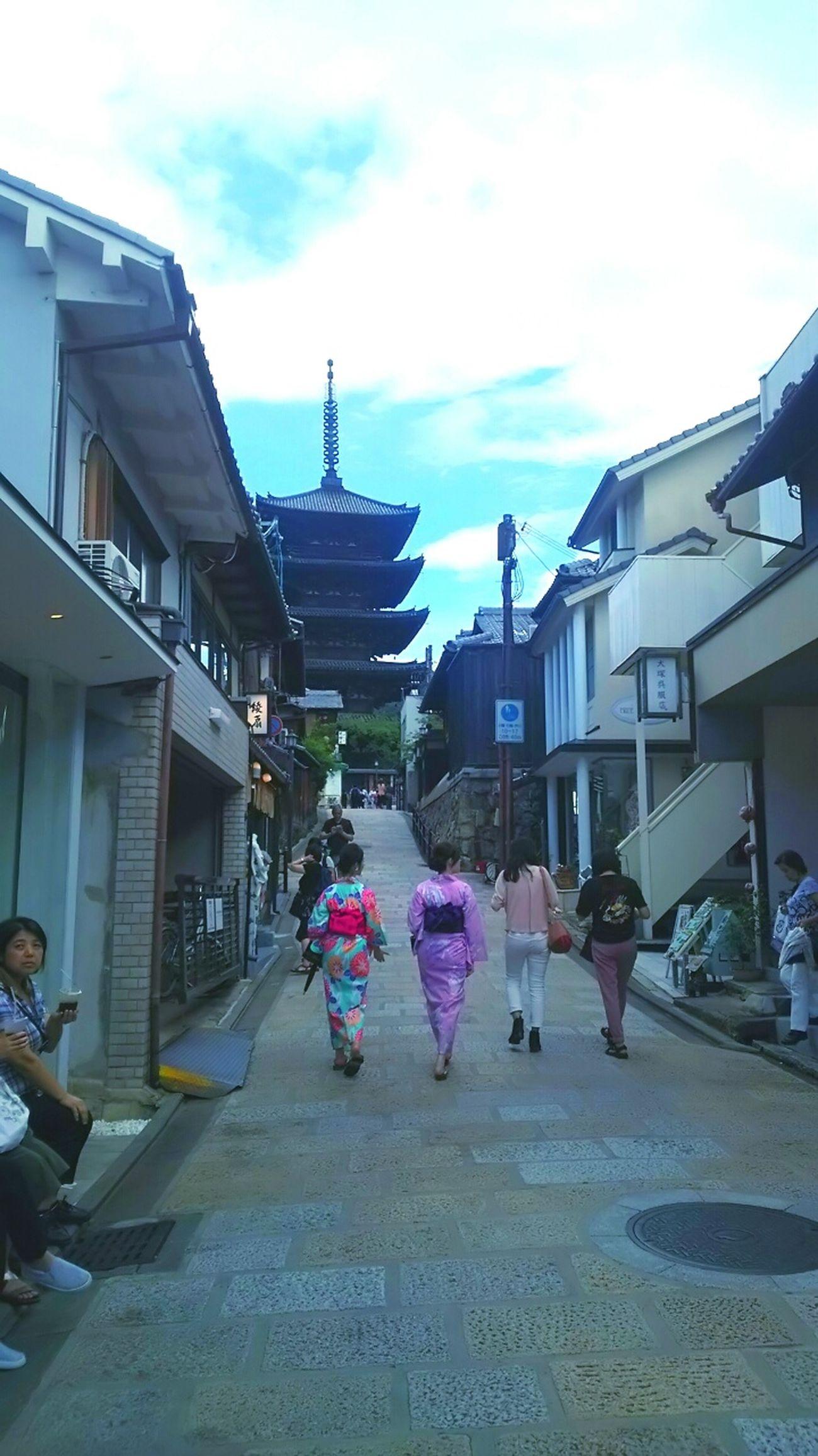 京都 Kyouto 家族旅行 法観寺 八坂の塔