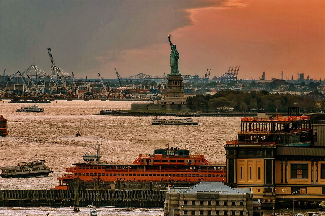 Statue Of Liberty Newyorkcity IHeartNewYork Staten Island Ferry Newyork NYC Photography Cityscape Citylife Nycprimeshot Water