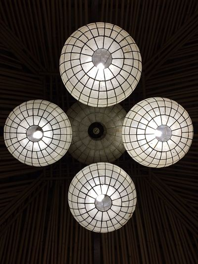 The Lights Pattern Ceiling Geometric Shape Low Angle View Indoors  Illuminated Lighting Equipment EyeEm Best Shots Finding New Frontiers Eyeem Philippines Puerto Princesa City Palawan Philippines Traveling Home For The Holidays Low Angle View EyeEmBestPics Modern No People Hanging Cupola Technology Day