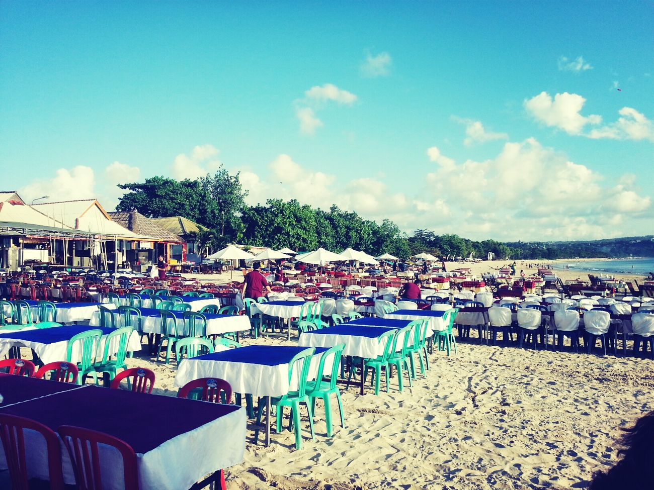 Jimbaran Fish Beach Bali