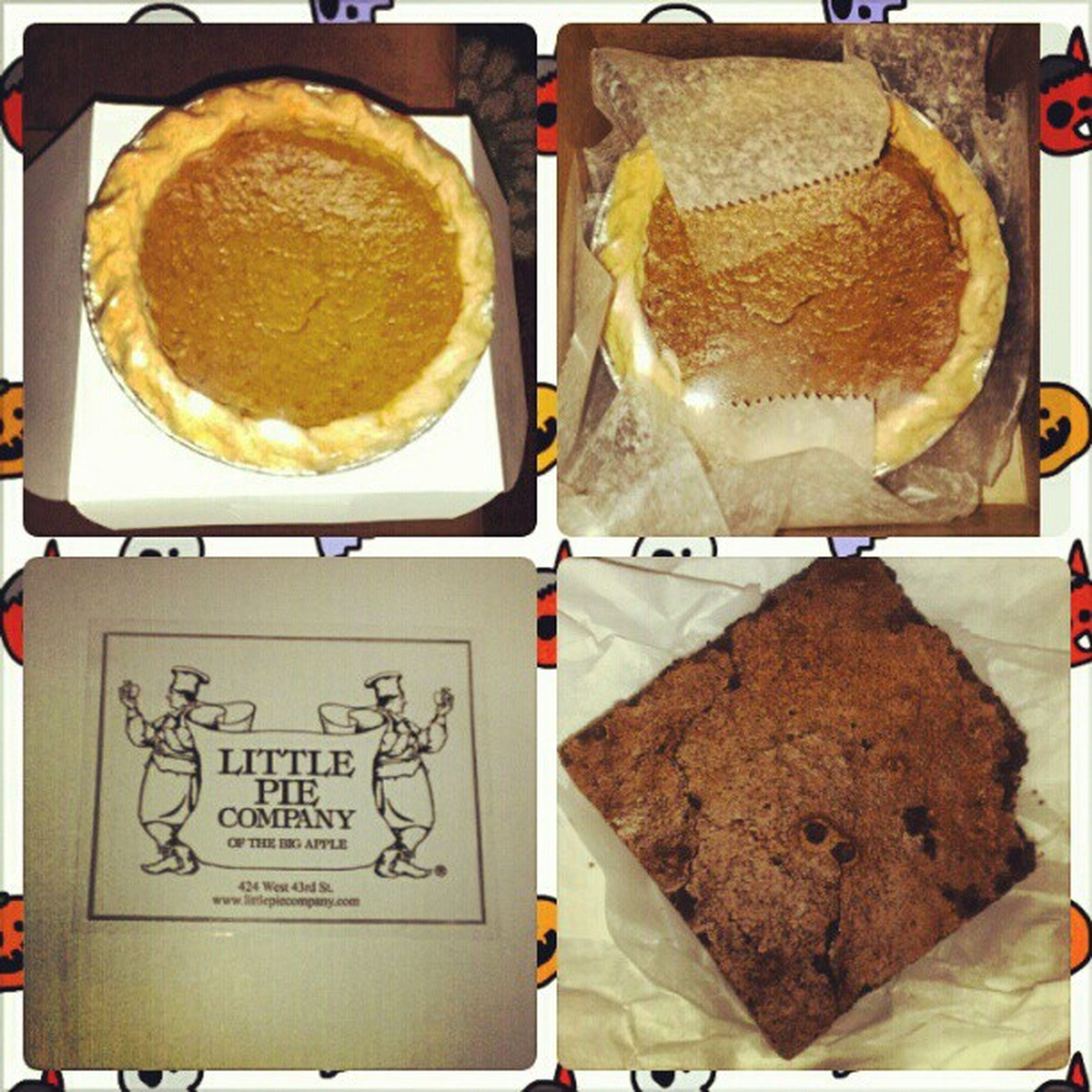 Treats for Hurricane Sandy!!! LittlePieCompany Pumpkinpie Brownie Sweettooth delicious lash