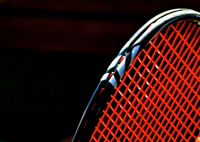 Black Background Close-up Detail Extreme Close Up EyeEm Best Shots Full Frame Hello World Minmalism Red Simplicity Sport Sports Photography Taking Photos Tennis Tennis Racket The Color Of Sport White