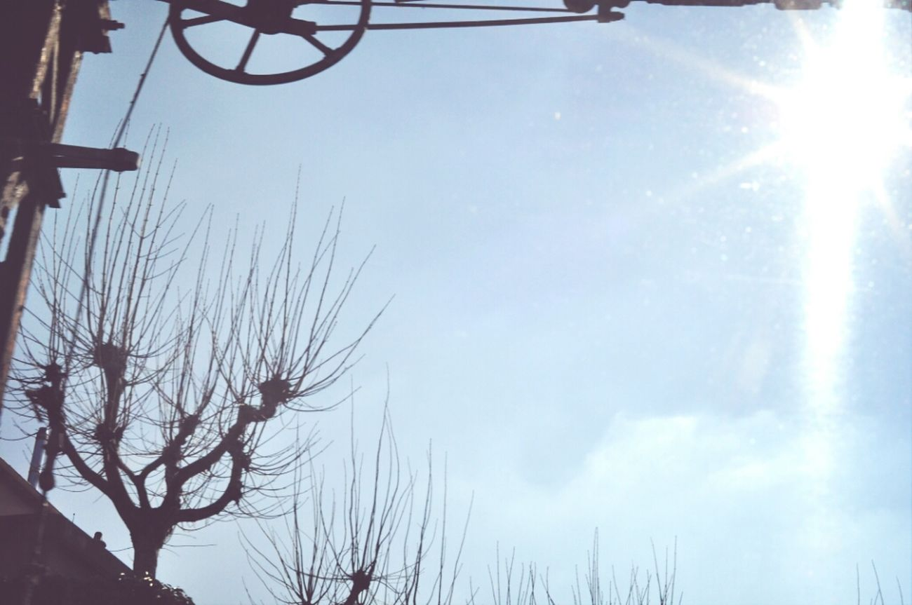 Sun Railway Bluesky