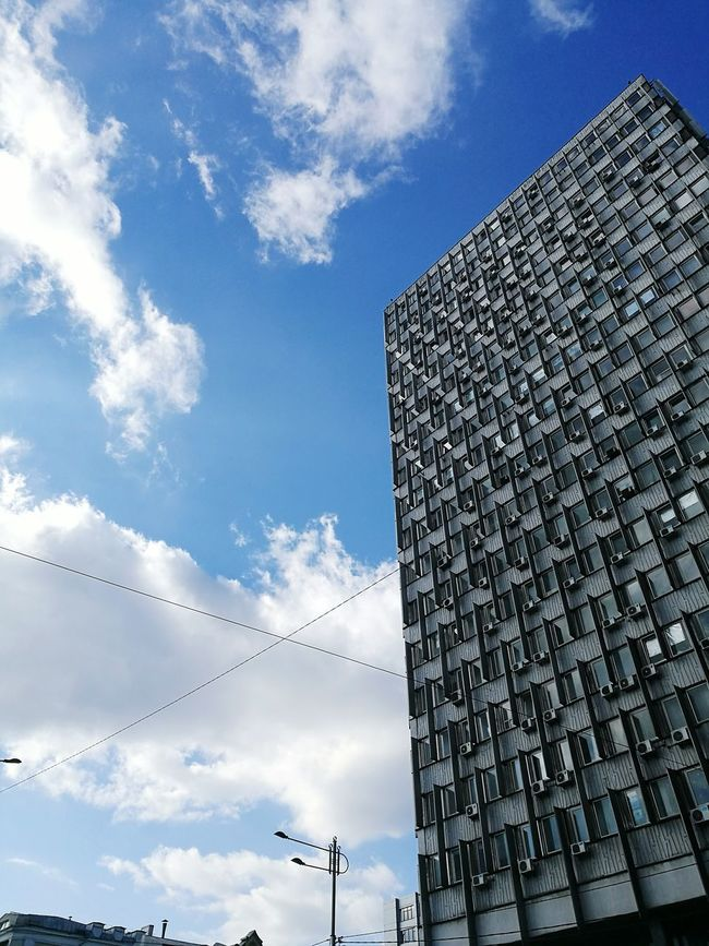 Sky Cloud - Sky Building Urban