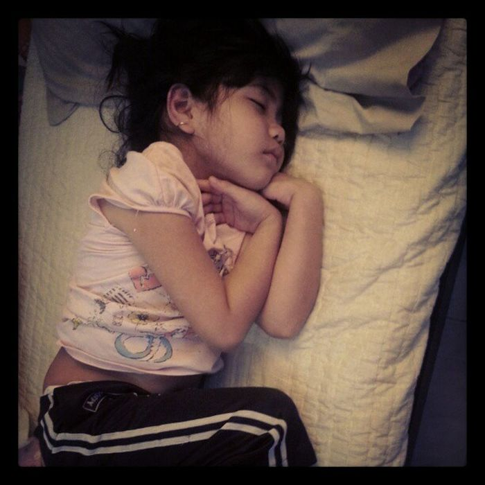 Shhhhhh. You'll wake up our baby girl Sister Sleeping Beautyrest Babygirl quiet love pictureoftheday igpic ig
