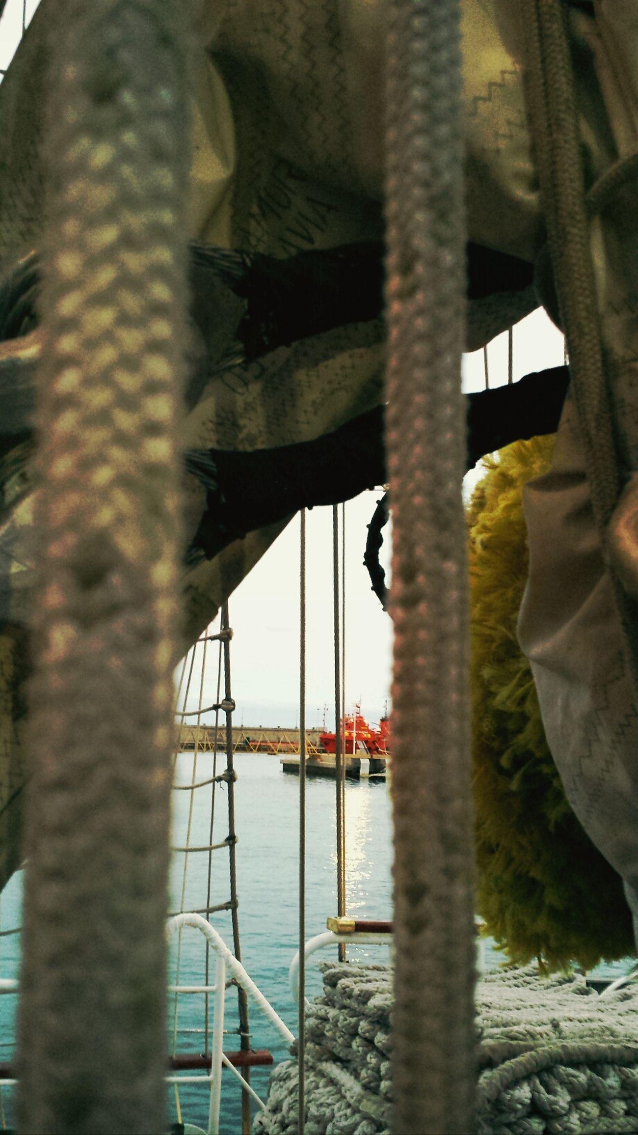 Puertos Barcos Cuerdas Relaxing