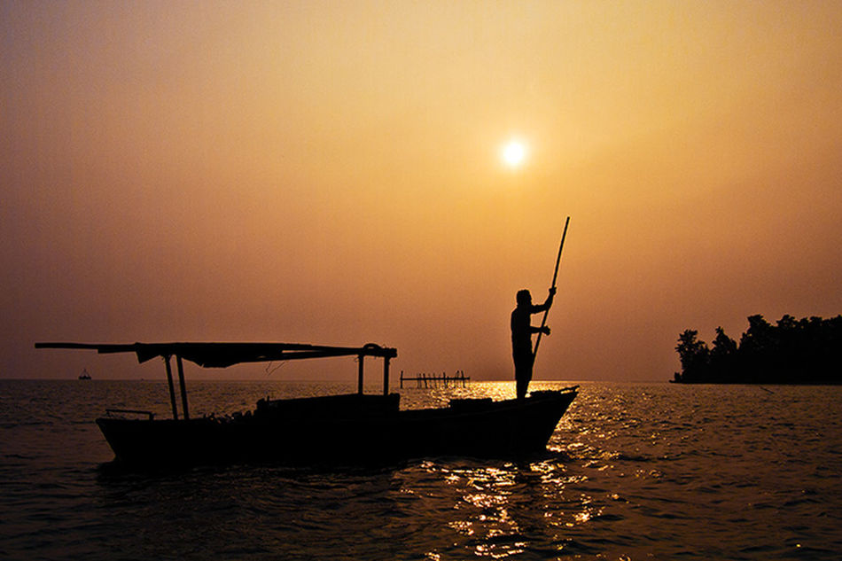 go to island Silhouette Eye4photography  Favorite Photography