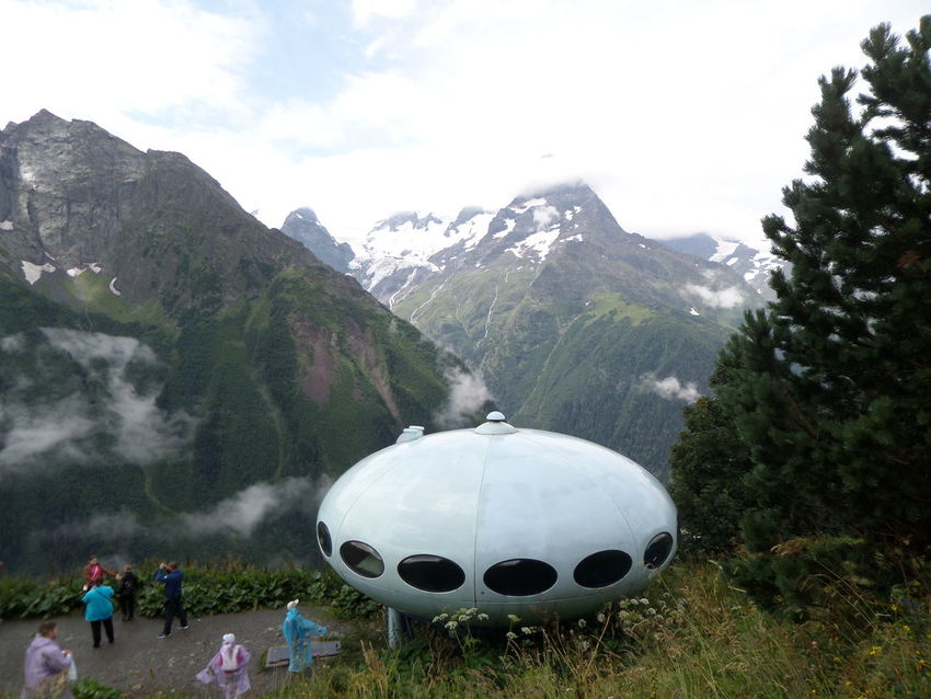 Landscape Mountain Mountain Range Outdoors КавказскийХребет Caucasian Mountains домбай Dombai Rocky Mountains Tourism UFO? нло The Tourist Tourist Here Belongs To Me Stunning