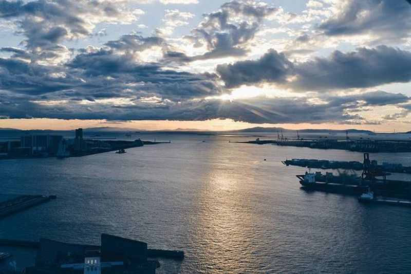 My refuge. 🌅 Ferris wheel view VSCO Vscocam Travel SamTravels Osaka, Nov. 2015 International travel number 7 💙
