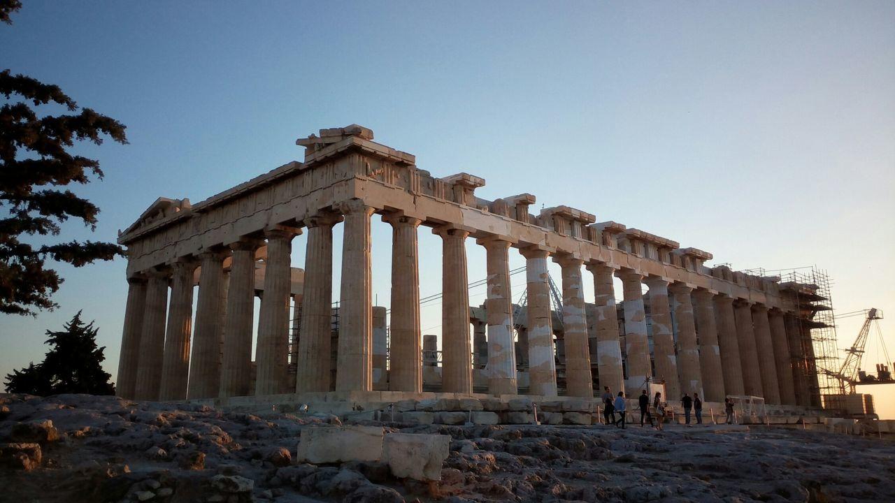 Acropolis Pathenon Athens Ancient Greece Ruins Archaelogical Greece Hellas