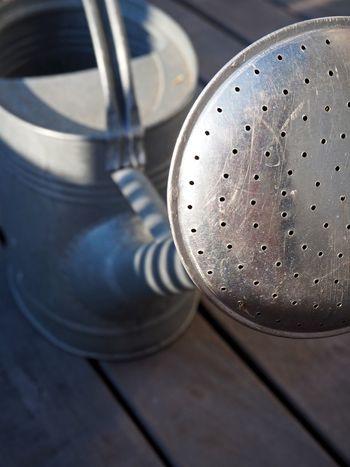 Gardening Metallic Steel Sprinkler Watering Can Wateringcan Water Watering