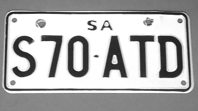 Motorcycle Number Plates License Plates Motorcycle License Plates Licence Plate Motorcycle Licence Plates Black&white Registration Number Plates Motorcycle Registration Plates Blackandwhite SA Number Plates Registration AlphaNumeric Licenseplates Numberplate Alphabetical & Numerical S a Licenceplates Registrationplate S70ATD Licenseplate Numberplates Number Plate :) Black And White Identification