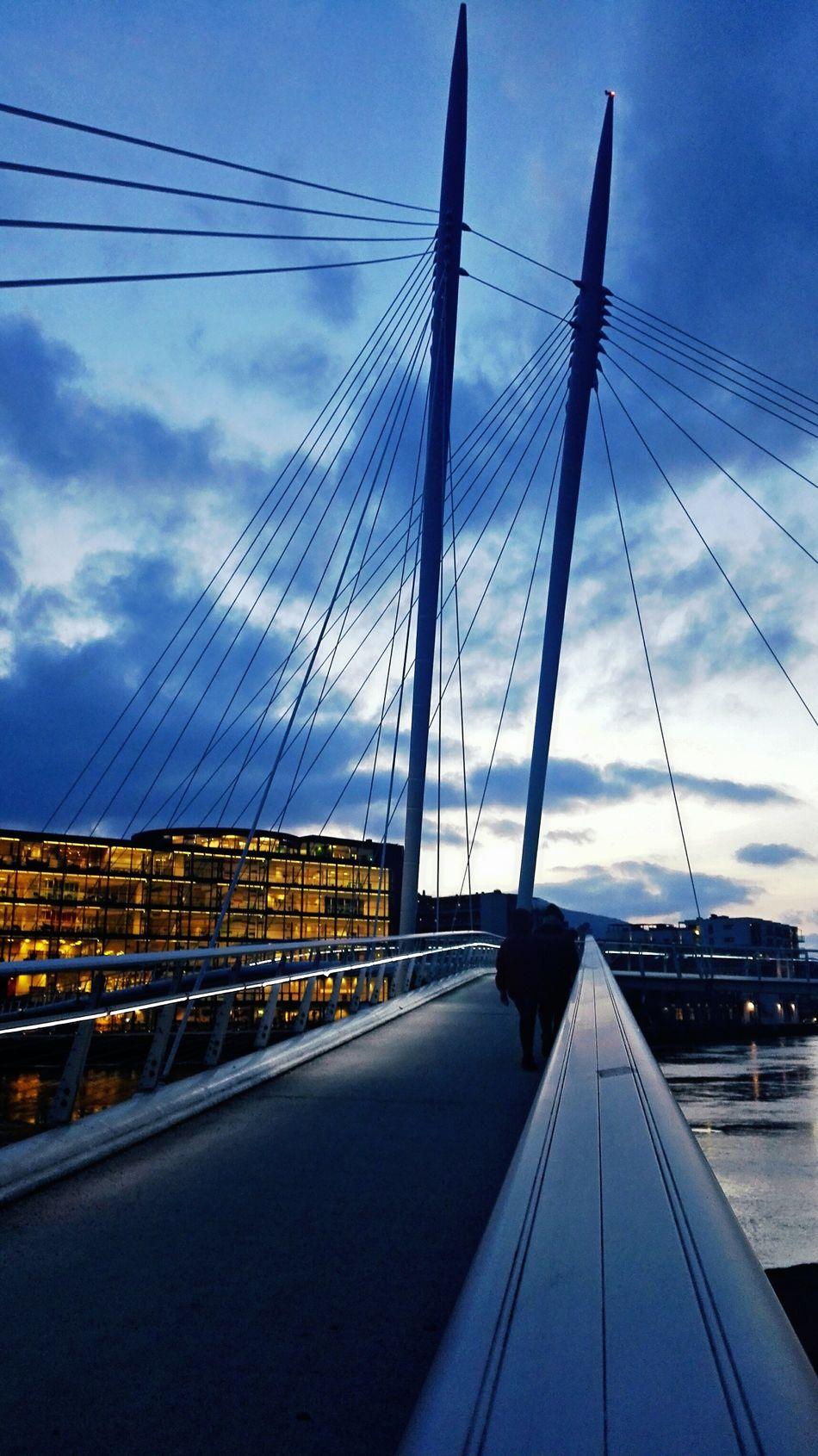 Drammen library, The Ypsylon bridge Taking PhotosNorway Hello World