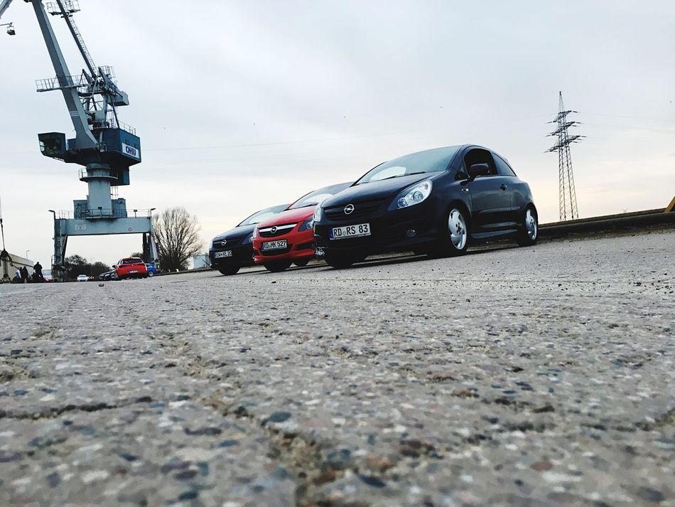 Outdoors Land Vehicle Sky No People Day Opel Corsa D GSI OPC