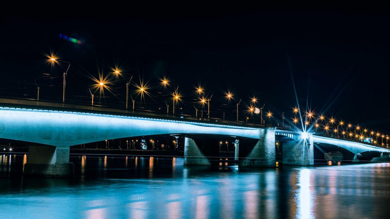 Bridge Night Nightphotography Night Lights Long Exposure Reflection Spb VSCO Cam Architecture Cityscapes