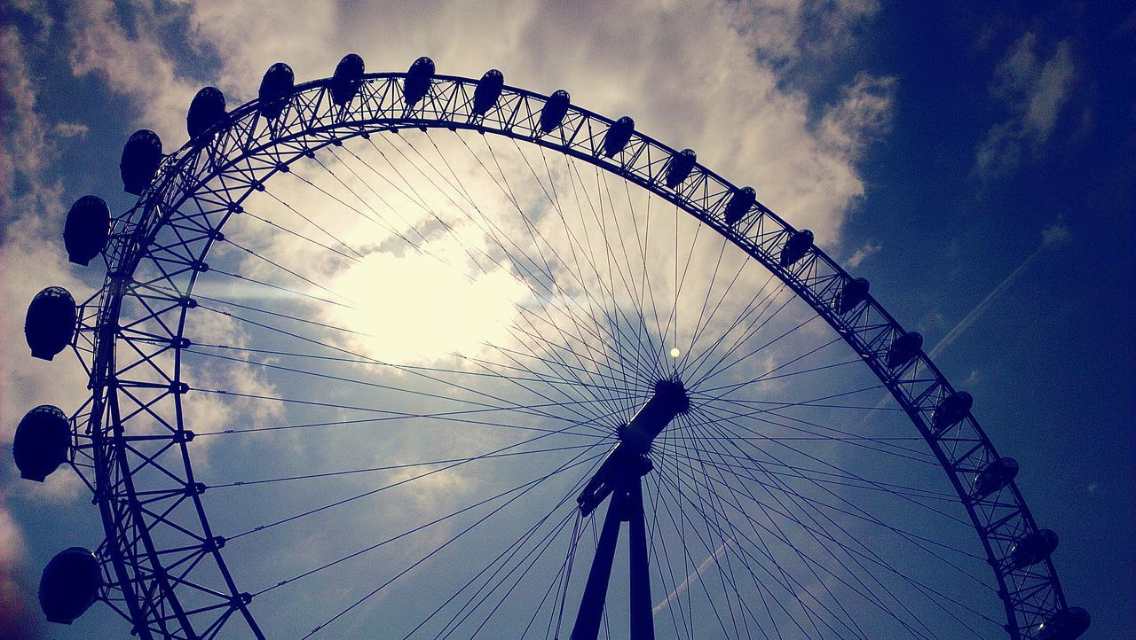 London Eye Sky Photography Clouds Skyview Monuments Of The World Bigwheel EyeEmNewHere