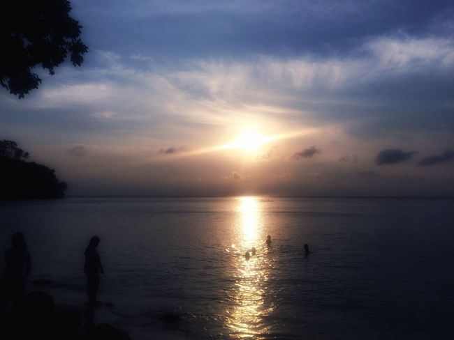 Horizon Over Water Calm