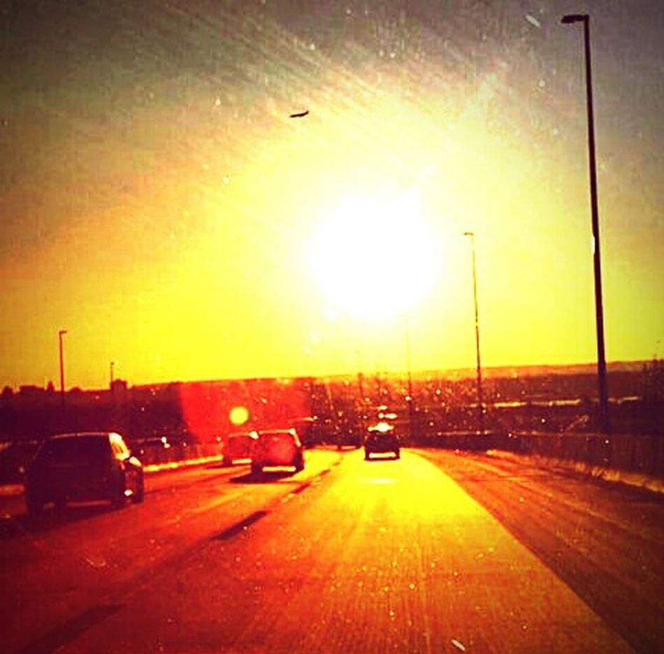 Check This Out Enjoying Life Amazing View From My Point Of View IPhoneography Commuter Chronicle Daily Commute Sunset