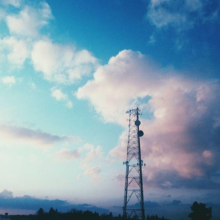 Vscocam Sunset Industrialization