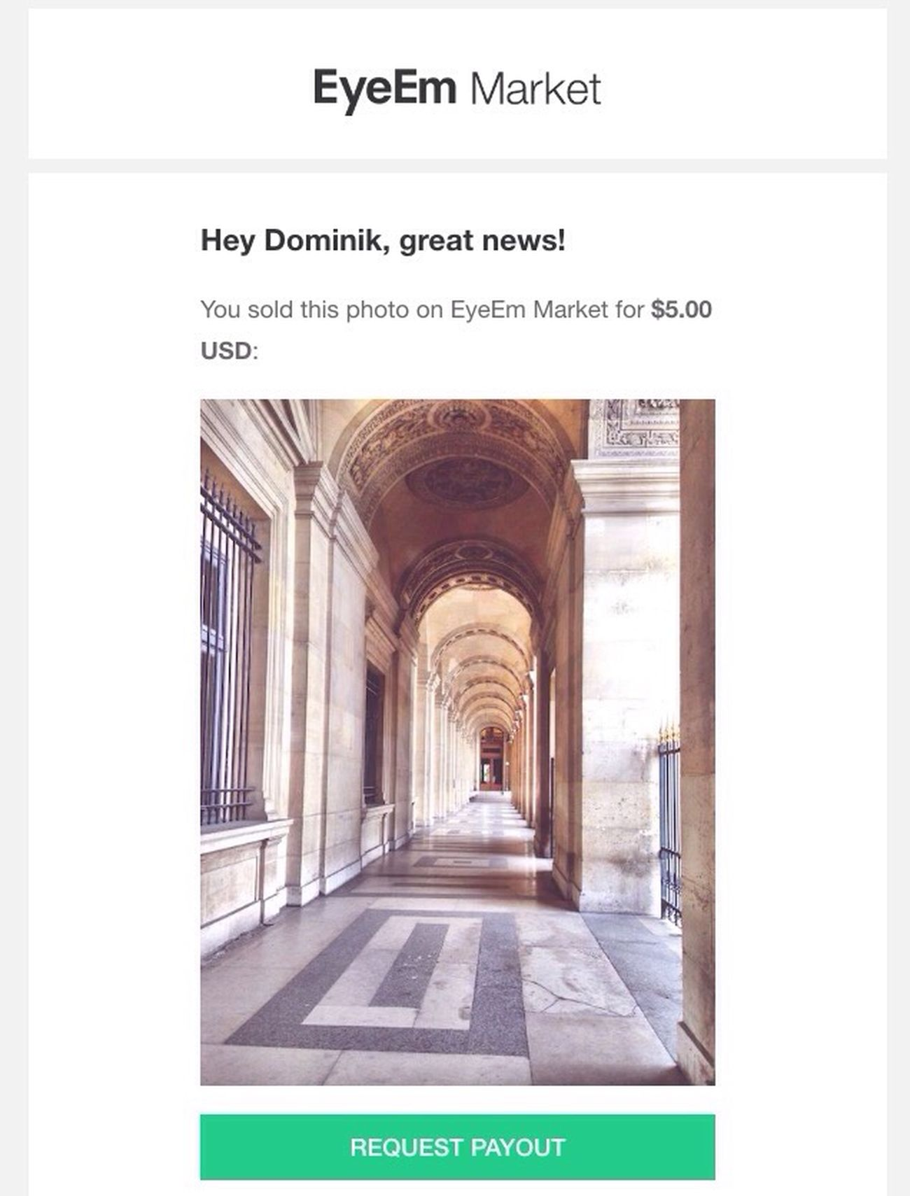 Wow... I've sold my first picture! Sold Photo On Eyeem Market Eyeem Market Verkauft Happy FirstPhotoSold EyeEm X Getty Images Sold On Getty Images Feeling Honored Honored Stolz Proud Selling Photos Yippie First Sell