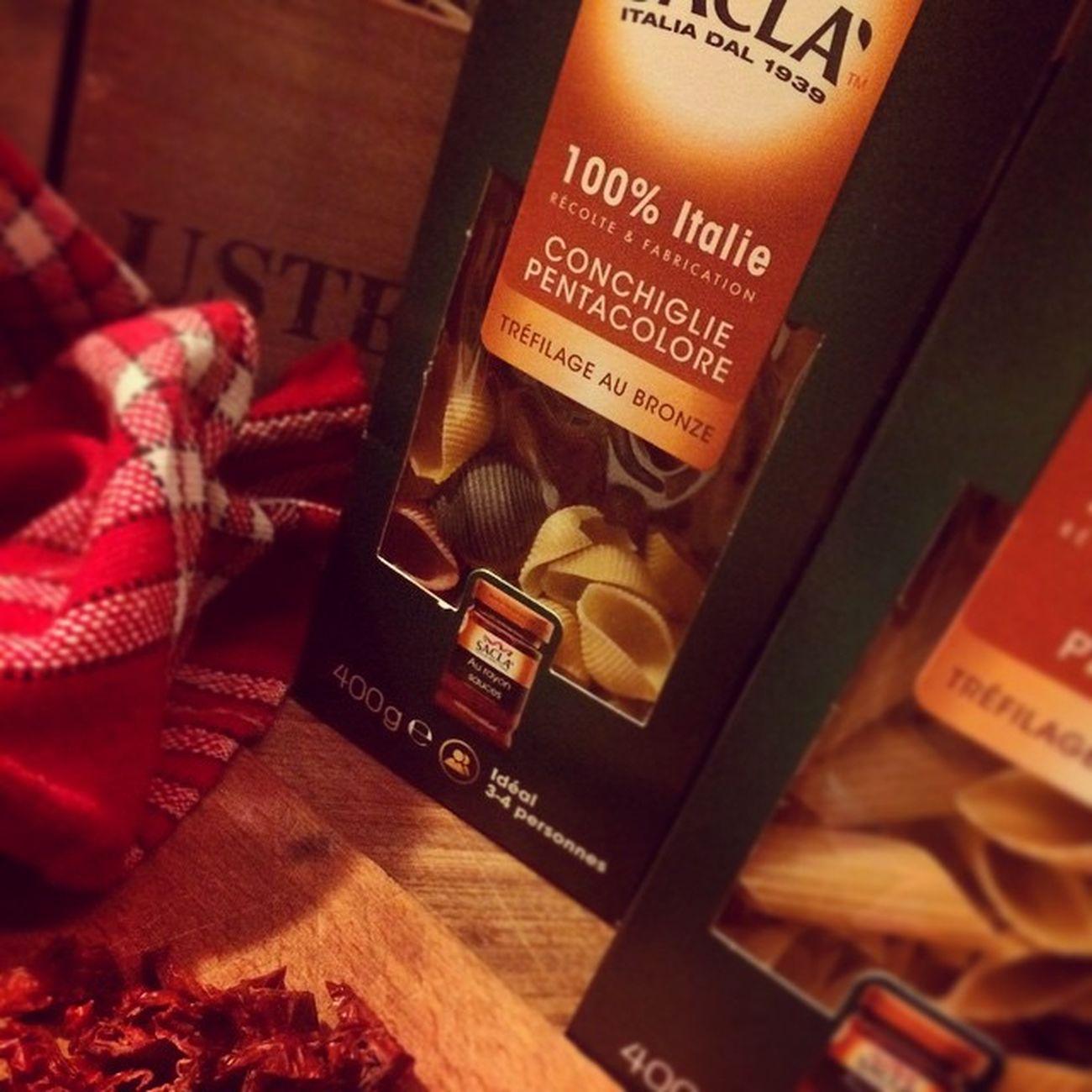 Fav inside. Sacla Pasta
