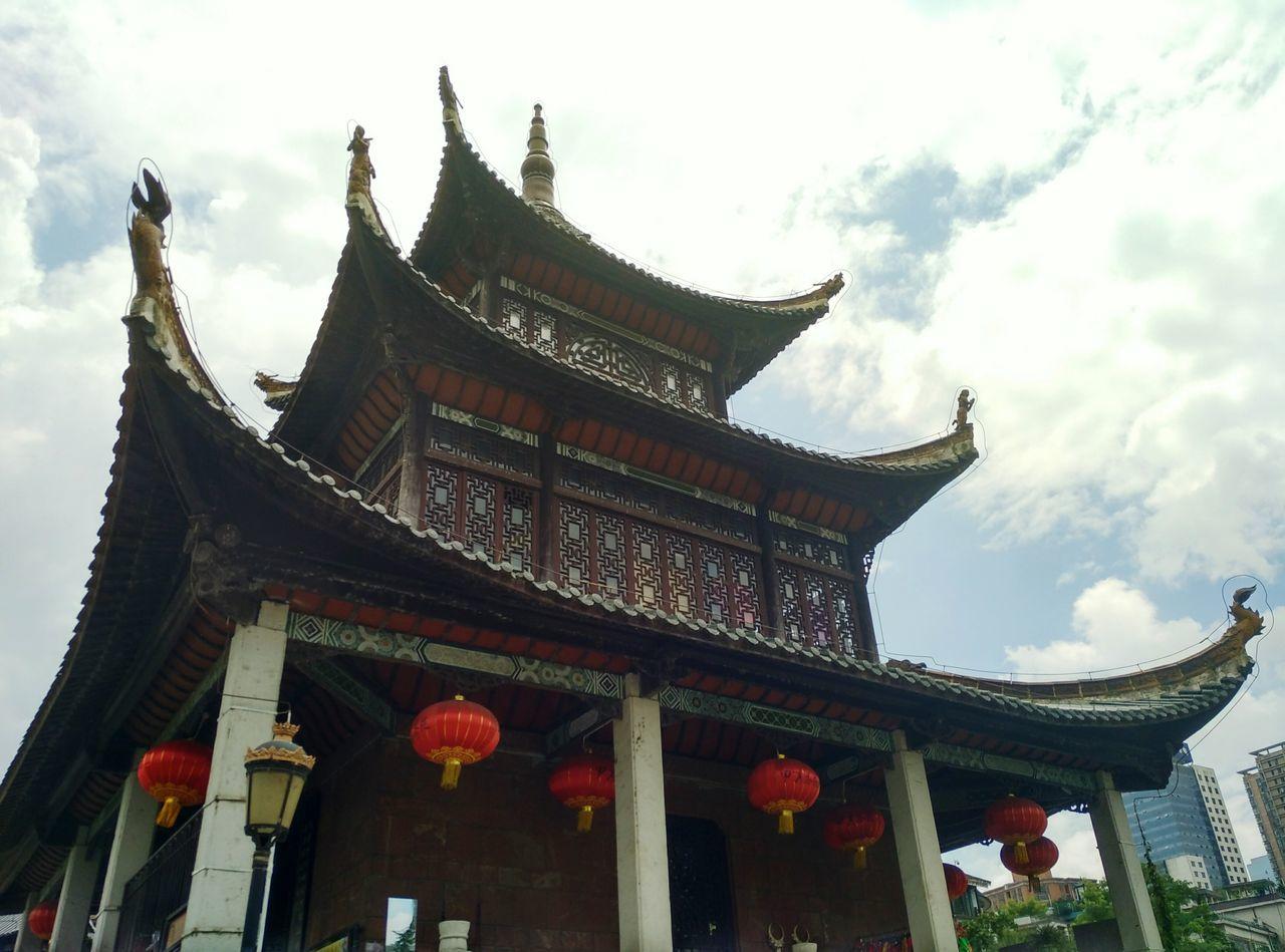 Jiaxiu pavilion. Guizhou China,Guizhou Guiyang Guiyang China China ASIA China Culture China Style Asian Culture Pavilion Roof Pavilion Built Structure Building Buildings Asianstyle