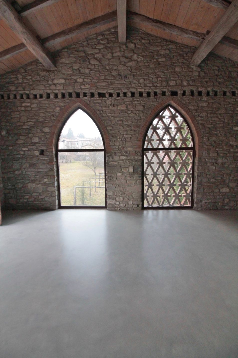 Arch Architecture Indoors  Built Structure Window History Day No People Concrete Floor Living Room Loft Barn Restructured Home Interior EyeEmNewHere Scenics The Secret Spaces