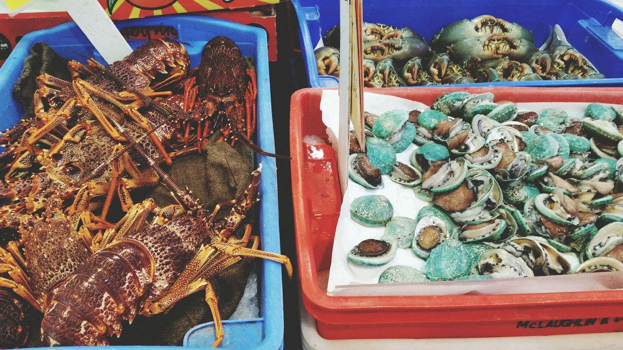 Seafood Crustacean Market Abalone Lobster Crab My World Of Food Showcase: December Christmas Feast Australia Christmas Around The World Chinatown Marketplace
