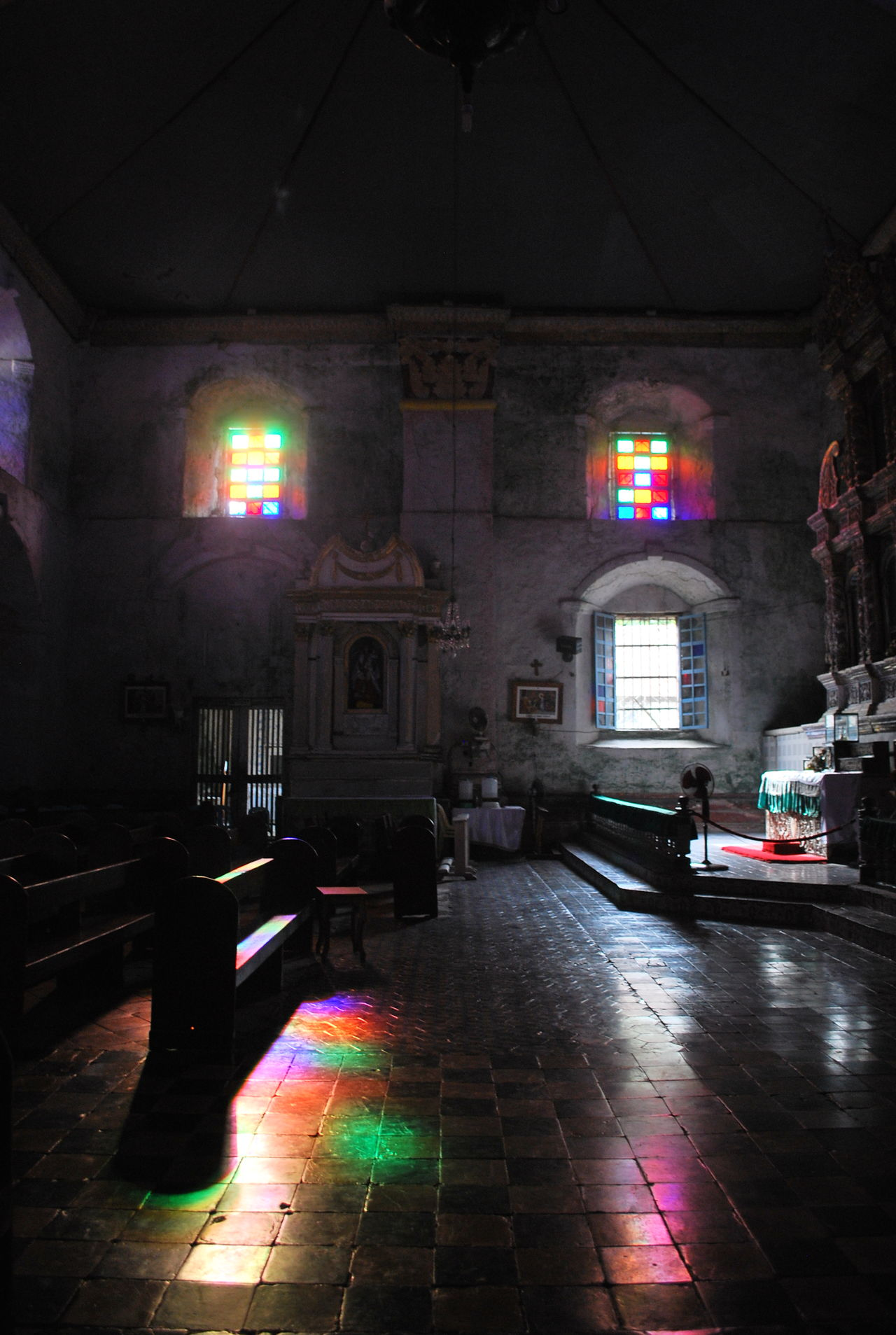 Stained Reflection Altar Architecture Built Structure Colored Windows Day Illuminated Indoors  No People Old Church Old Church Floor Prayers Reflected Color Reflected Colors Serenity Silence Moment Silent Altar Spirituality Stained Stained Glass Stained Glass Window