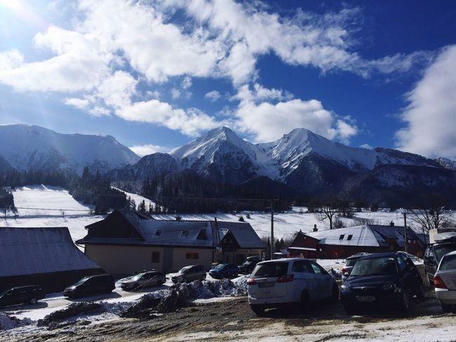 Beautiful Sunday Morning! Tatry Zdiar Skiing Nature Mountains