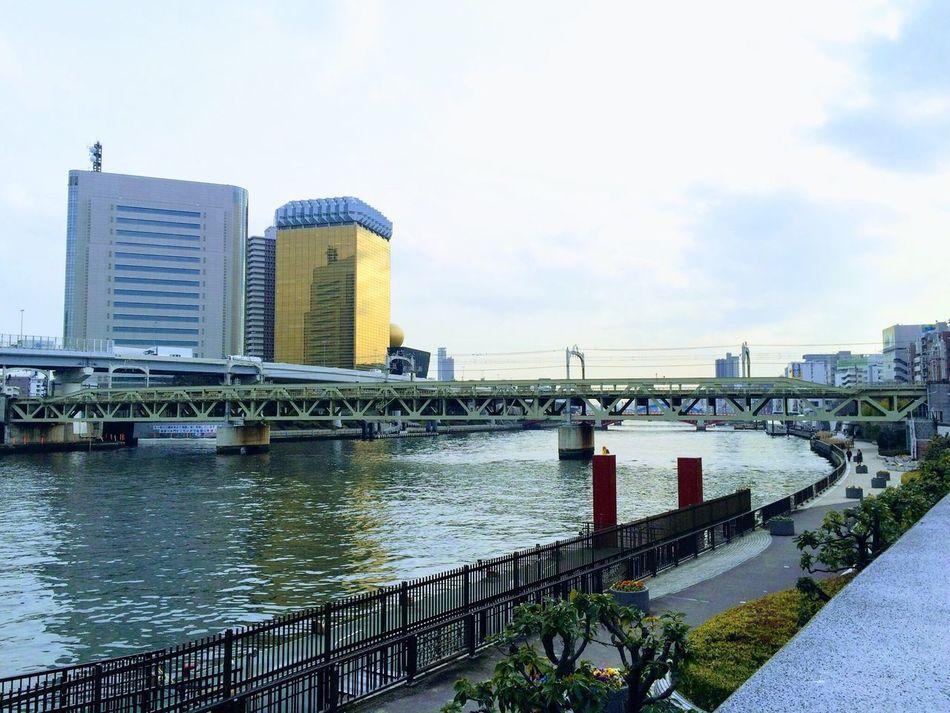 JapanLife River Water Asahi Mobilephotography City