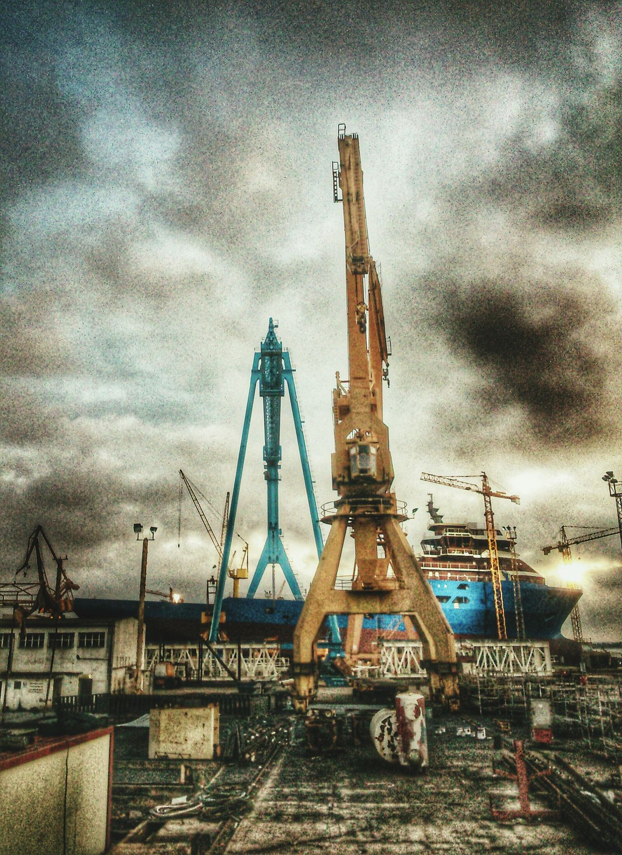 Huelva Astilleros Barcos Astilleros De Huelva Shipyard