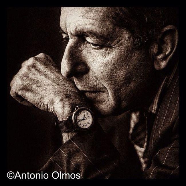 Leonard Cohen, Musician, photographed by Antonio Olmos