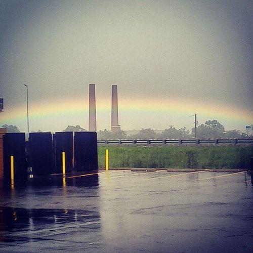Rainbow RainyDay Atwork Off55south potofgoldwhereyuat??9o'clockbored