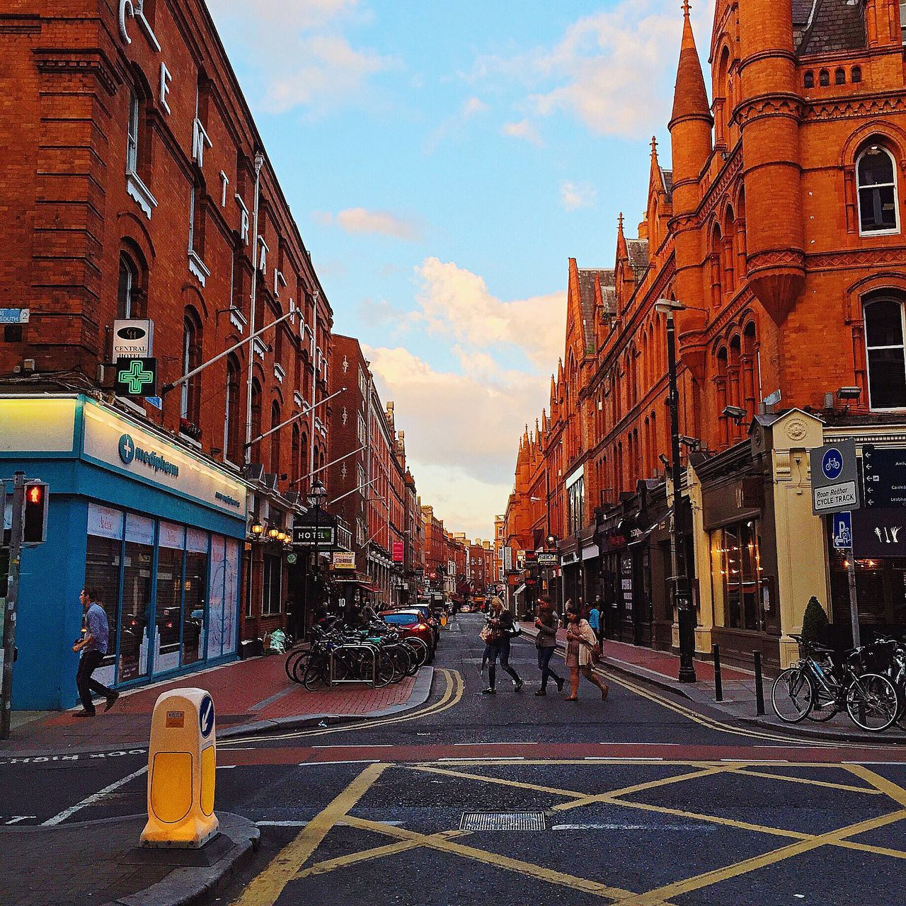 Evening Sky Architecture_collection Victorian Architecture Brick Work Dublin Street Photography Beautiful Street Photography
