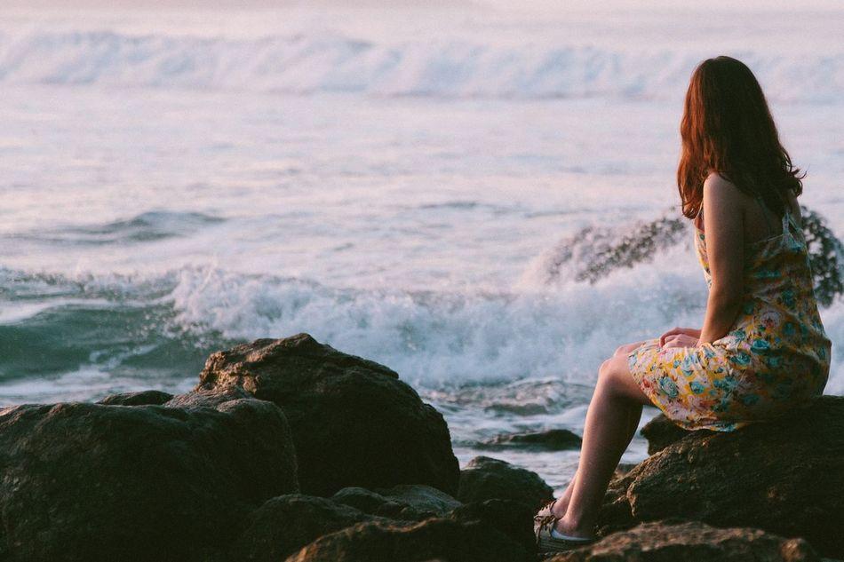 We DO enjoy the calmness of the sea. The Essence Of Summer Beach Beachphotography Beach Life Sea Ocean Ocean View Waves Waves, Ocean, Nature Wave Summer Lonely Loneliness People Of The Oceans Feel The Journey EyeEm X Canon - Feel The Journey